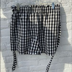 Joie Checkered Shorts